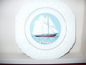 Bluenose 11 collector plate