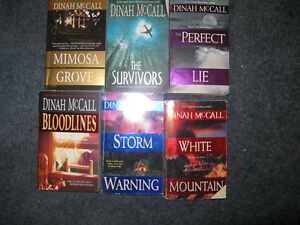 Dinah McCall  books $1 each or $5 for the lot