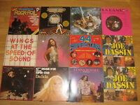 Vinyl LP records USED