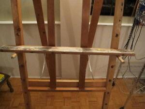 Toile intitulée : Les pharaons 100$ + trépied en bois 100$ West Island Greater Montréal image 5