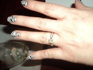 Diamond Ring ---  Custom Made  Engagement /Wedding Windsor Region Ontario image 4