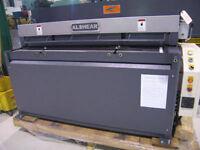 """Alshear Hydraulique shear 52"""" x 10 gauge **NEW**"""