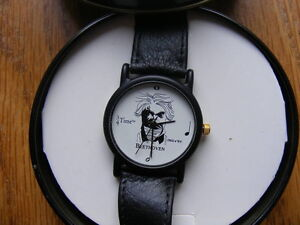 "FS: ""Beethoven 3/4 Time"" Quartz Wrist Watch with Decorative Tin London Ontario image 2"