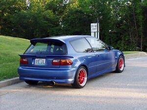 lips arrière civic hatchback 92-95
