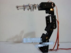 New-4-DOF-Aluminium-Robot-arm-Clamp-Claw-Mount-kit-With-4pcs-MG995-Servos-DIY