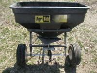 Agri Fab Seeder New Never Been Used Tow behind Mower