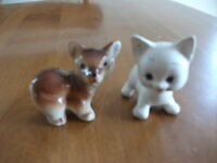 Kitty Cat and Doggy Ornaments