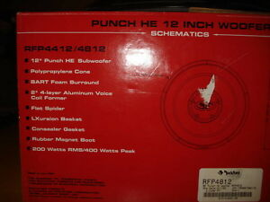 "Rockford Fosgate 12"" Punch Subwoofers West Island Greater Montréal image 5"
