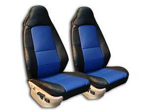 Bmw Z3 1996 2002 Black Blue Iggee S Leather Custom Fit