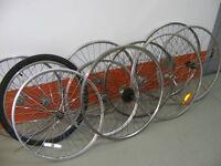 """Roues de vélos 12""""16"""" 18"""" 20"""" 24"""" 26"""" 27""""28"""" et 700 en aluminium"""