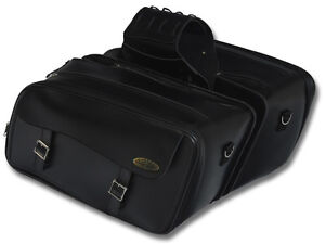 Large Expandable Motorcycle Saddlebag UV Treated and Water Resistant 516