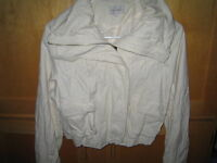 FAUX LEATHER LIKE JACKET**MINT CONDITION ..GREAT FOR FALL!