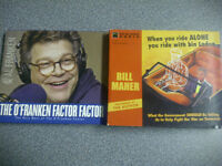 Rare- Political Satire Bill Maher & Al Franken on CDs