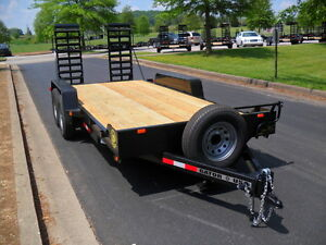 NEW 14,000 lb, SKID STEER TRAILER, BOB CAT, Equipment Hauler