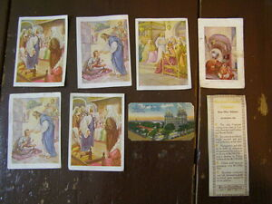 Collection of 7 Religious & Amer. History Cards