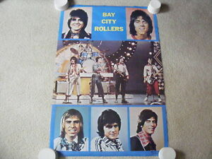 FS: 1976 Bay City Rollers In Concert Poster London Ontario image 1