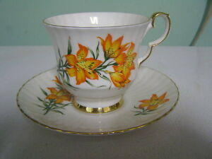 Prairie Lily Cup and Saucer