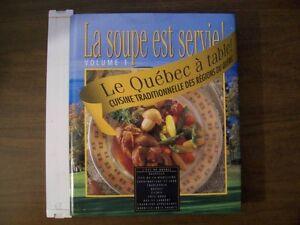 Le Québec à Table-Cuisine Traditionnelle des Régions Du Québec.