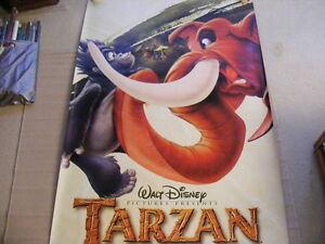 "FS: 1999 Disney's ""TARZAN"" (Vinyl) Theatrical Promo Sheet London Ontario image 1"