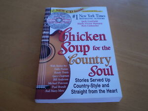 CHICKEN SOUP FOR THE COUNTRY SOUL OVER SIZED SC BOOK Windsor Region Ontario image 1