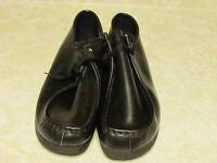 Men's NEW, Black Leather Shoes
