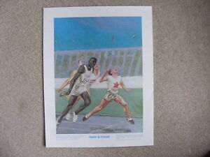 FS: Percy Williams 1972 The Prudential Collection Print