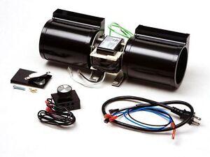Heat N Glo Gfk 160a Complete Fireplace Blower Replacement Fan Kit Fk 180 Cfm Ebay