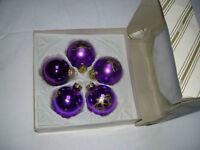 Weihnachtsbaumkugeln angebote auf waterige - Christbaumkugeln lila ...