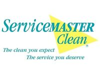 ServiceMaster require cleaners for Newbury and surrounding areas - Immediate Start
