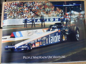 FS: 1993 Joe Amato (NHRA) Valvoline Sponsored Dragster Promotion