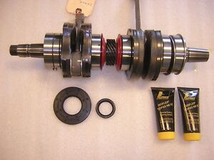 Ski-Doo-Crankshaft-421-000-609-600HO-2003-2007-Carb-New-from-BRP-Ski-Doo