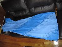 Robe longue ( Bleu)