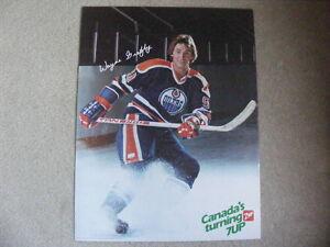 "FS: 1982 Wayne Gretzky ""7-Up"" (Canadian Food Issue) Promo Sheet"