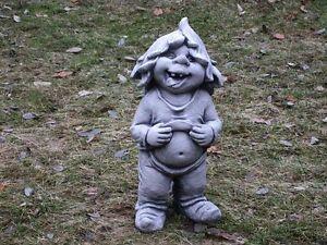 Steinfigur Nr.173 Zwerg Gnom Troll Wichtel 02 MANU ca. 40 cm ca. 13 kg Frostfest