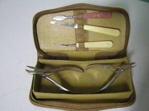 Vintage Manicure pieces