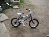 "14"" Venture Mountain tour bike"