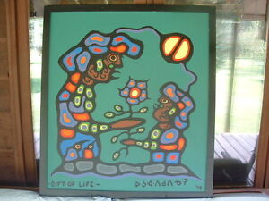 NORVAL  MORRISSEAU  PAINTING-  Price Reduced