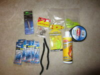 Fishing supply gift baskets