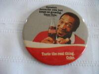 Bill Cosby Coca Cola Button