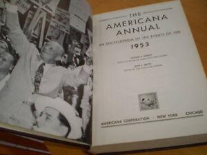 VINTAGE 1950'S AMERICANA  HARD COVER ANNUALS Windsor Region Ontario image 2