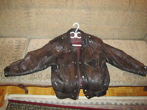 Manteau de cuir (Brun) West Island Greater Montréal image 1