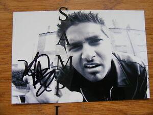 """FS: Dave Baksh (Sum 41) """"Autographed"""" 4x6 Photo"""