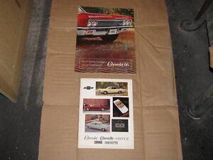 1966 Chevrolet Dealer Brochures
