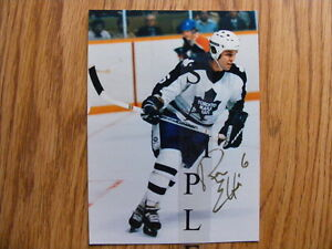 FS: Ron Ellis (Toronto Maple Leafs) Autographed Photos London Ontario image 2
