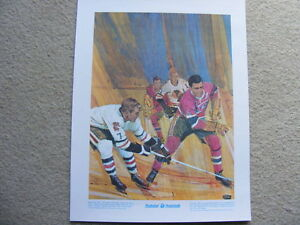 "FS: Bobby Hull ""Great Moments..."" The Prudential Print London Ontario image 1"
