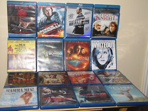 FOR SALE 39 BLU-RAY DVD'S IN GOOD CONDITION