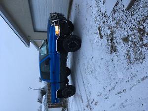 Lifted 1998 Dodge Power Ram 1500 Slt Laramie Pickup Truck
