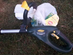 yardworks wireless grass trimmer 8000 rpms