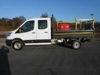 2016 16 FORD TRANSIT TIPPER DOUBLE CAB 350 L3 LWB RWD (STEEL BODY) 125PS DIESEL