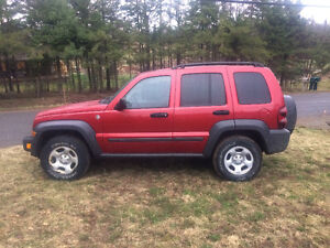 2006 Jeep Liberty Black SUV, Crossover